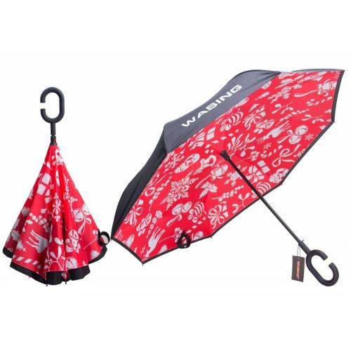 Inverted Double Layer Umbrella, Windproof
